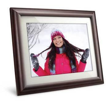 """Free Shipping! Viewsonic VRM1536-11 Digital Picture Frame VRM1536-11 Digital Picture Frame, 15"""" LCD Frame, 12 x 9"""" Viewing Area w/ 4:3 Aspect Ratio, 1024 x 768 Resolution, SD/SDHC/MMC/MS/MS."""