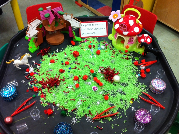 Sort the fairies Christmas decorations.