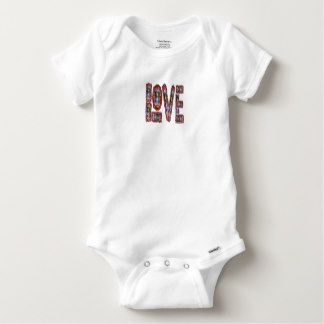Baby Football Bodysuit Topper Winner LOVE