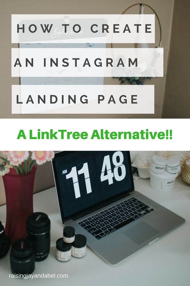 How To Create an Instagram Landing Page   a Link Tree Alternative!!!!