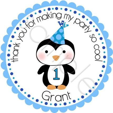 Winter ONEderland Birthday Penguin Personalized Stickers - Party Favor Labels, Address Labels, Baby Shower - Choice of Size and Colors. $6.00, via Etsy.Winter Onederland, Birthday Parties, Birthday Penguins, 1St Birthday, Parties Ideas, Onederland Birthday, Baby Boy, Personalized Stickers, Birthday Ideas