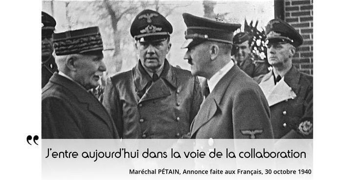 Aujourd'hui sur notre site : De Gaulle-Pétain, duel où chacun parle à une partie de la France qui l'écoute & le suit