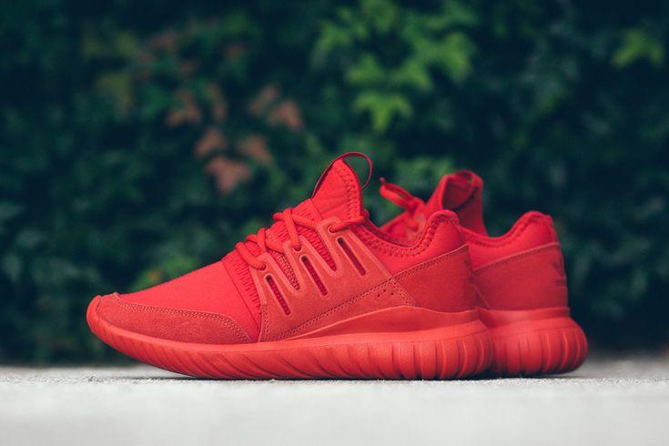 "adidas Tubular Radial ""Triple Red"" - EUKicks Sneaker Magazine"