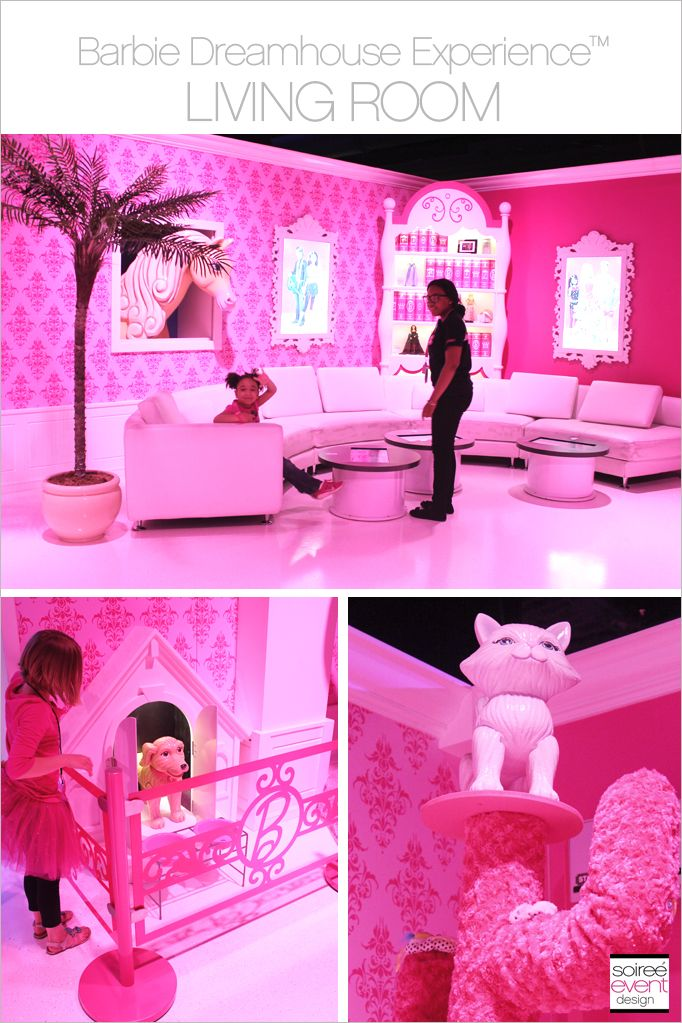 Barbie: The Dreamhouse Experience at the Mall of America in Bloomington, Minnesota