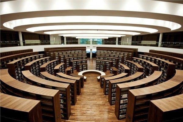 Zayed University Campus Library Abu Dhabi