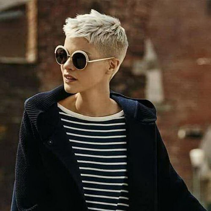 Super Kurze Graue Haare Haare Hair Short Hair Cuts Und Short