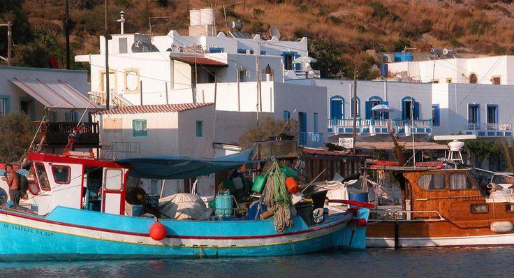 Leros, dans les îles du Dodécanèse, en Grèce