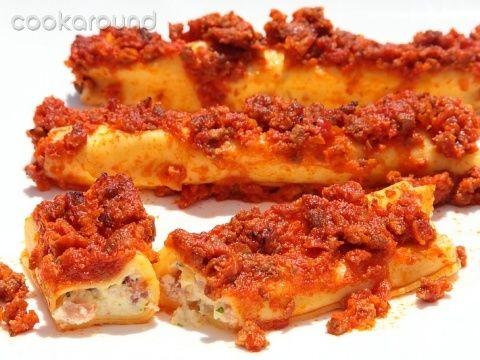 Cannelloni alla napoletana: Ricetta Tipica Campania   Cookaround