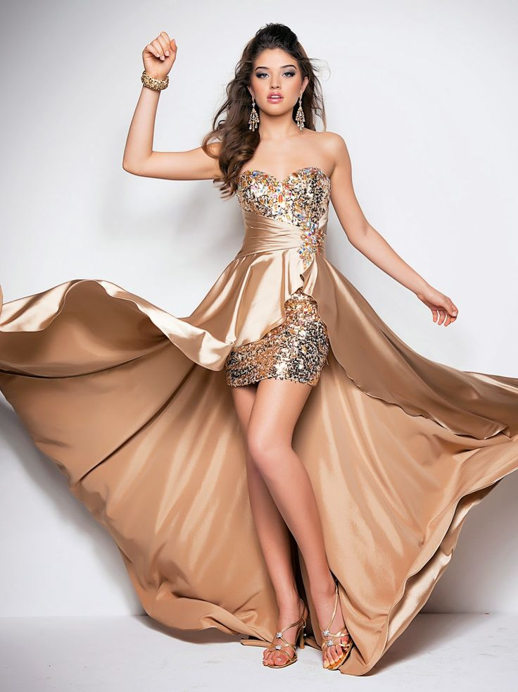 Modernos vestidos de graduación | Exclusivos vestidos para jovencitas de fiesta