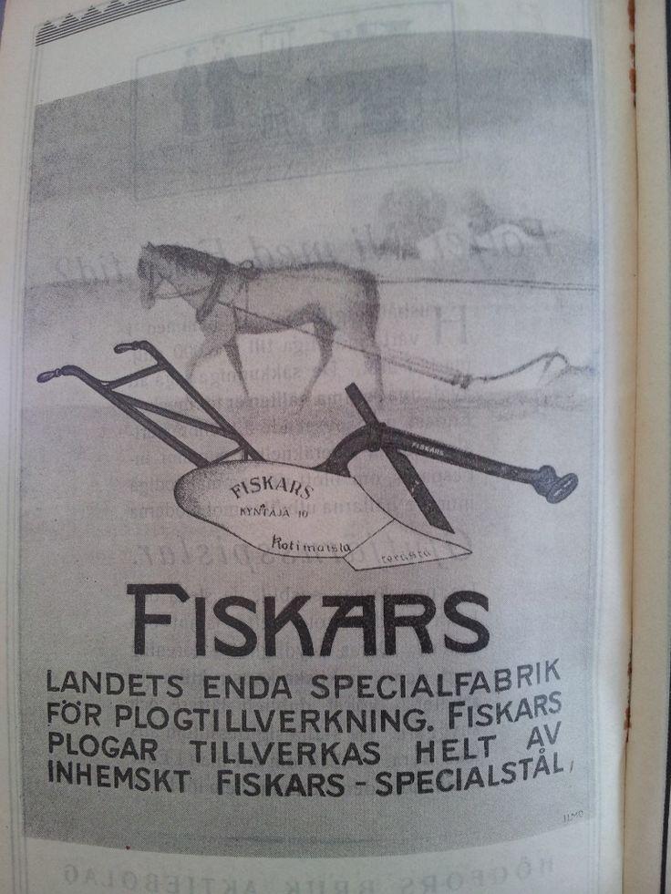 Fiskars på 20-talet