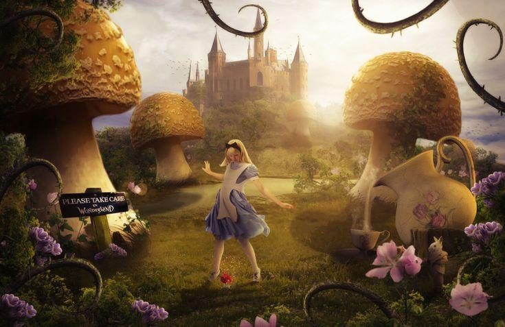 Alice In Wonderland by ElementOfOne1.deviantart.com on @DeviantArt