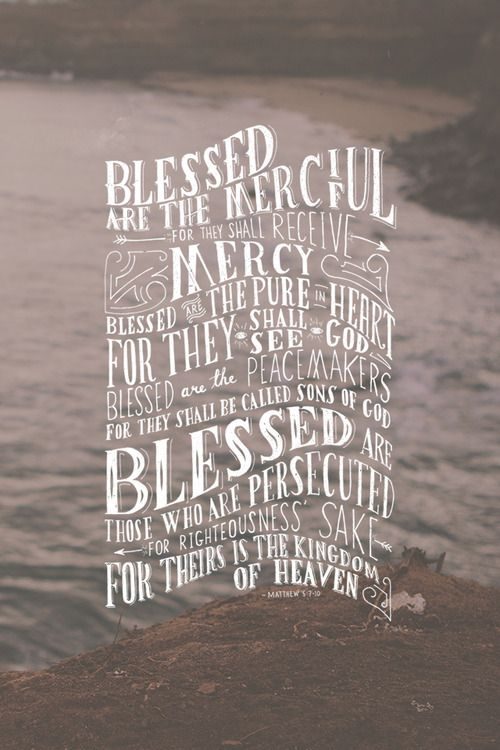 Matthew 5:7-10