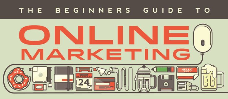 The Beginners Guide to Online Marketing via Quick Sprout. | Helpful guide focusing on crafting your online presence through social media.