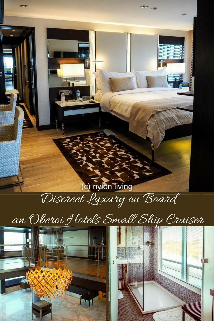 A look at the luxury found on board the Oberoi Hotel Group's Nile River small ship cruisers, the Oberoi Philae and the Oberoi Zahra.