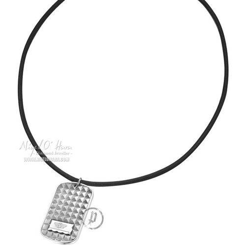 Police Unisex Storm Stainless Steel Dog Tag on Leather Strap - 23903PLS/01 - £23.76 - View this item here: http://www.nigelohara.com/police-unisex-storm-stainless-steel-dog-tag-with-cord-pj23903pls01-pid16898.html  Or view our full Police Jewellery range here: http://www.nigelohara.com/police-jewellery/