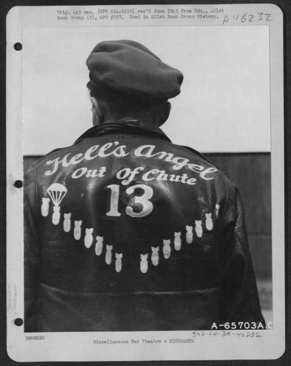 WOW 1939-1945: U.S. Air Force personalised bomber jackets - http://www.warhistoryonline.com/war-articles/wow-1939-1945-u-s-air-force-personalised-bomber-jackets.html