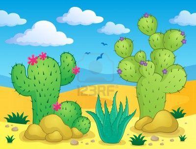 Cactus theme image