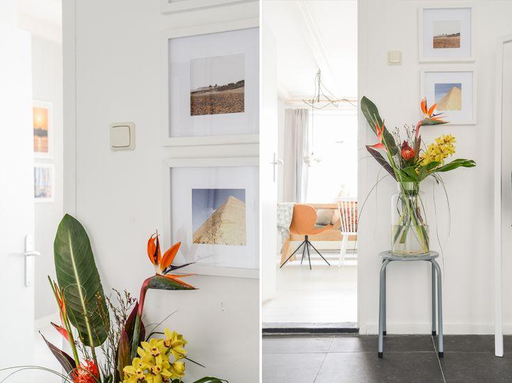 Vergeet niet de hal van je woning ook gezellig aan te kleden: zo voel je je bij binnenkomst direct thuis.