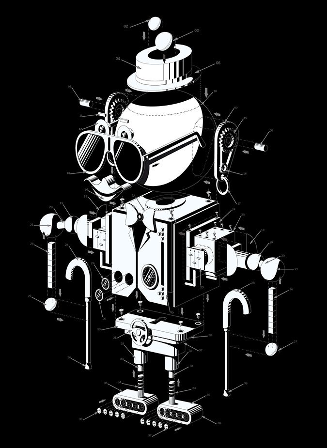 Robot kit www.blindsalida.fr