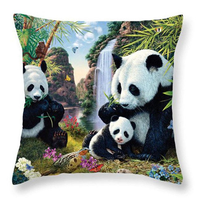 beautiful hd art print throw pillows (17 styles)