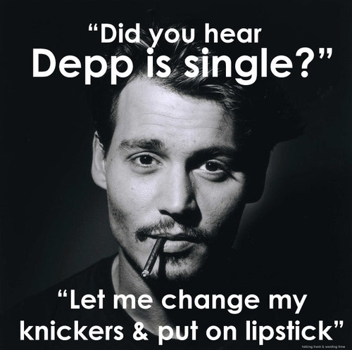 haha...i love Johnny DeppJohnny Depp, Favorite Actor, But, Quotes, Celebrities, Eye Candies, Things, Beautiful People, Johnnydepp