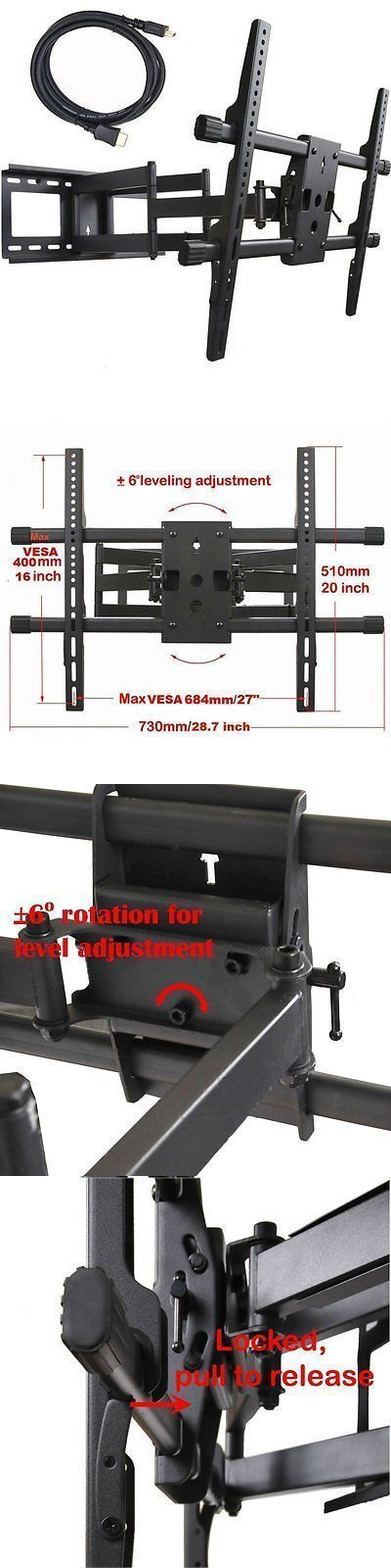 TV Mounts and Brackets: Videosecu Articulating Full Motion Tv Wall Mount For 32-65 Led Lcd Plasma Tvs -> BUY IT NOW ONLY: $81.02 on eBay!
