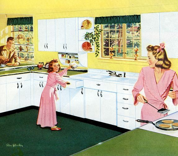 Kitchen Remodel Youngstown Oh: 17 Best Images About Vintage Kitchen Ideas On Pinterest