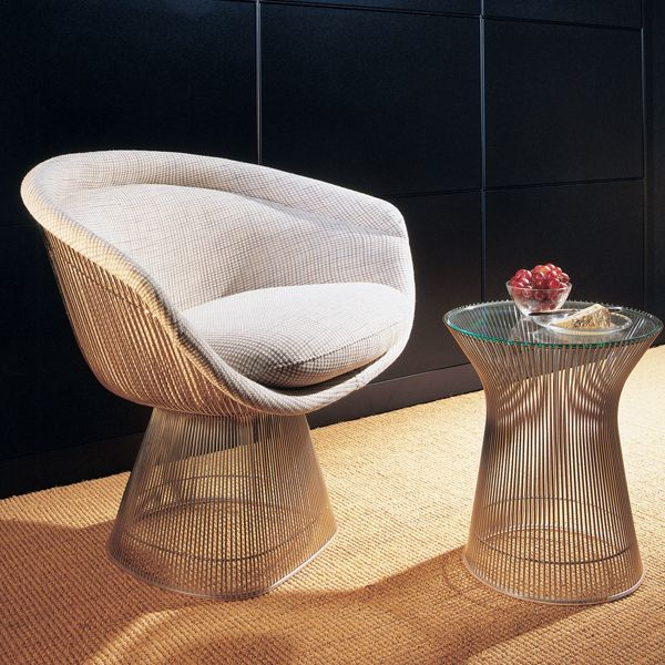 In The Warren Platner Transformed Steel Wire Into A Sculptural Furniture  Collection, Creating A Design Icon Of The Modern Era. Top Options Include  Clear ...