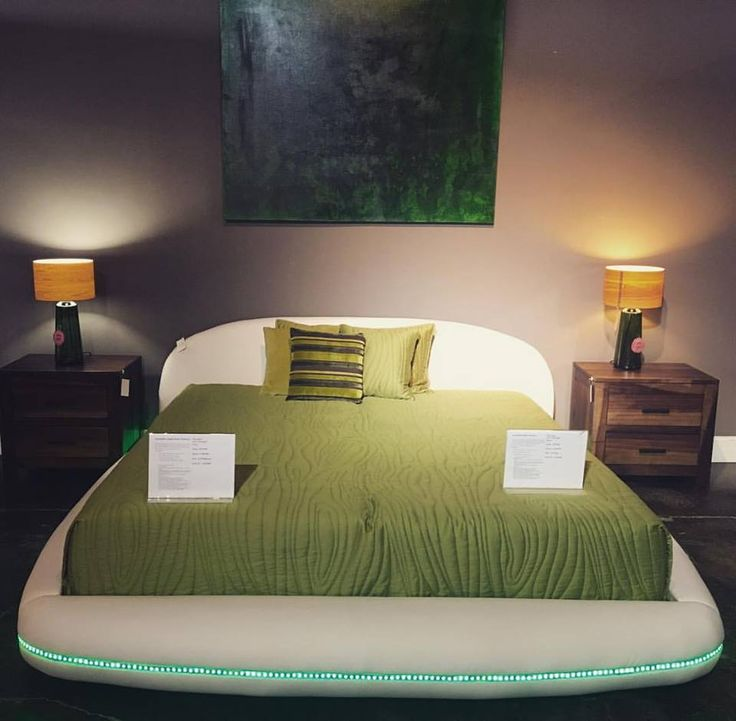 """Product for this week until 12.24.16 is our new Dylan king bed. Dylan is a platform style bed covered in soft vinyl with LED accent lighting. Bed available in black or white. 96""""x 100""""x 34"""" $1699-20%=$1359.20 #shopsmallbusiness #houston #texas #modern #home #shoplocalbusiness #contemporary #bedroom #sleep #led #white #furniture #design"""