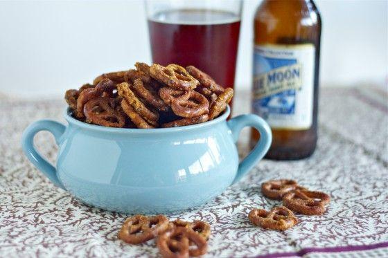 honey mustard pretzels. favorite snack when I was little