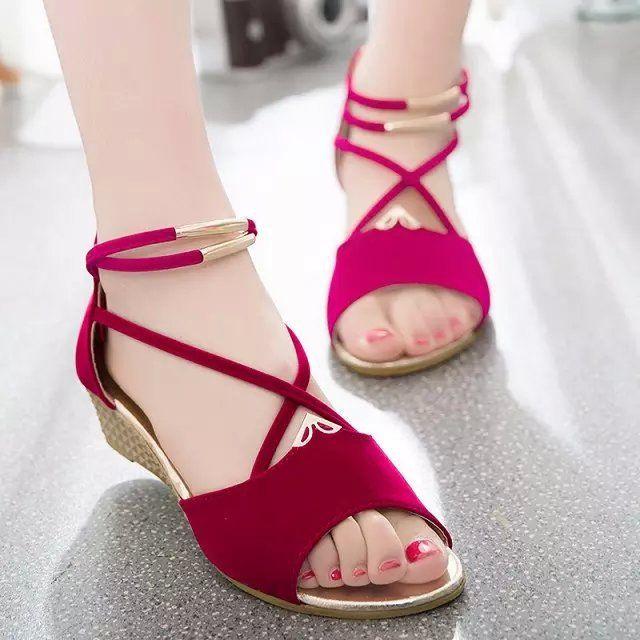 $9.39 (Buy here: https://alitems.com/g/1e8d114494ebda23ff8b16525dc3e8/?i=5&ulp=https%3A%2F%2Fwww.aliexpress.com%2Fitem%2FMetal-Buckle-Bohemia-Women-Sandals-Wedges-Summer-Cut-Out-Cross-Strap-Dames-Schoenen-Zipper-Ladies-Woman%2F32741139744.html ) Metal Buckle Bohemia Women Sandals Wedges Summer Cut Out Cross Strap Dames Schoenen Zipper Ladies Woman's Shoes Gladiator Mujer for just $9.39