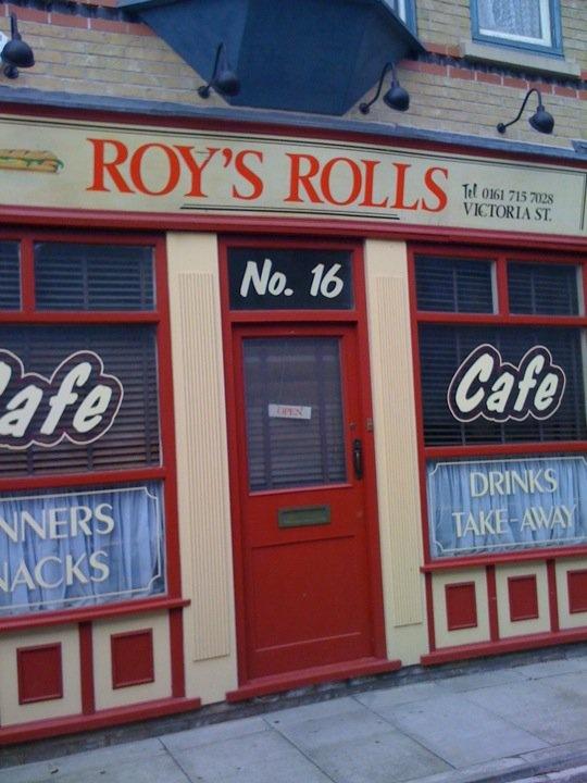 Roy's Rolls....Coronation Street