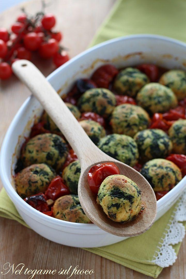 polpette+ricotta+spinaci