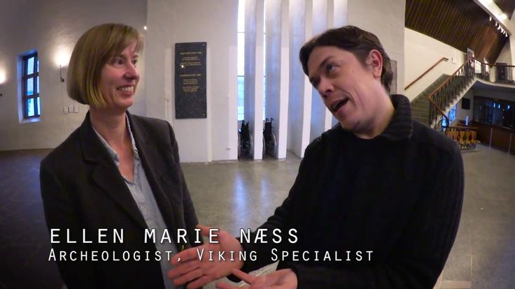 Here we met a Norwegian specialist on Vikings. Eager to kill the most common myths about Vikings.