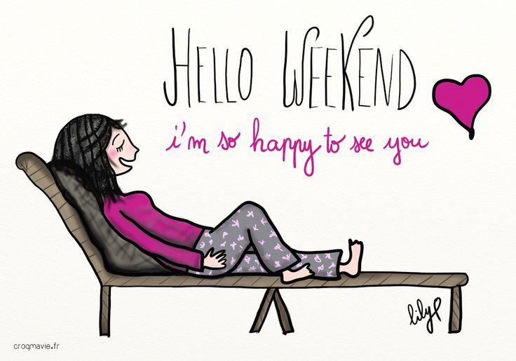 bulle, calme, dormir, détente, famille, family, free, heureux, humour, libre, love, musique, pause, sweet, tranquillité, vendredi, weekend, zen, croqmavie.fr