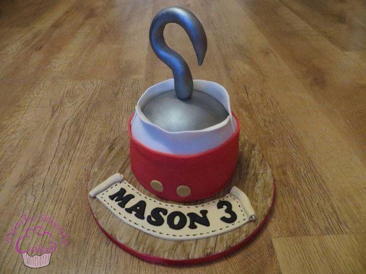 Captain Hook themed birthday cake