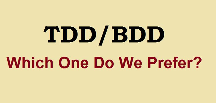 In order to keep ourselves updated with the latest #softwaredevelopment practices, we ought to choose between the Test-Driven Development (TDD) and Behavior-Driven Development (BDD). #softwaretesting  Testing