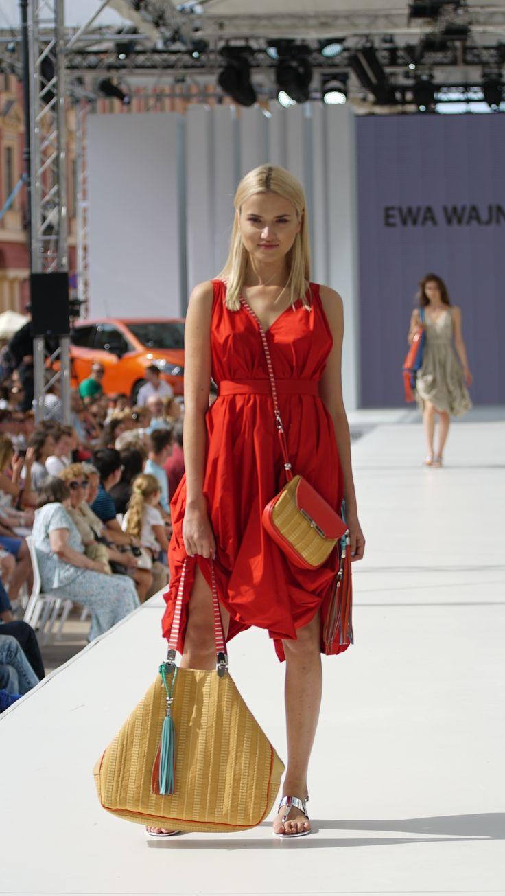 Warsaw Fashion Stret Ewa Wajnert bags.