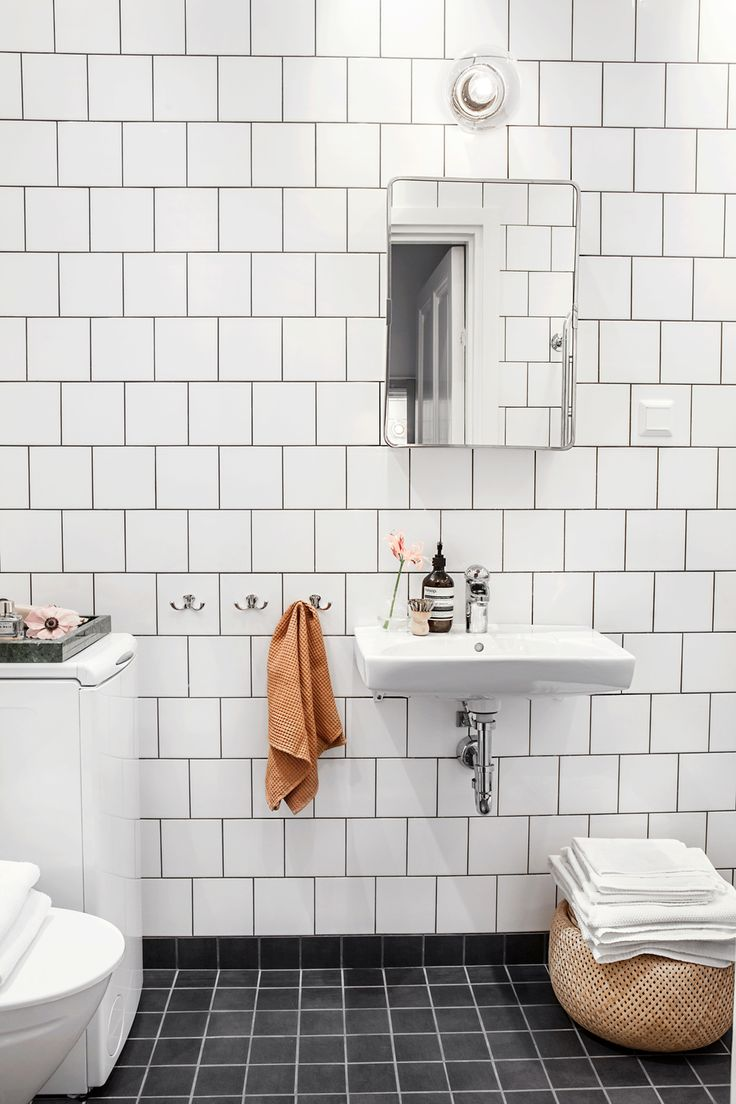 192 best interiors bathroom images on pinterest bathroom ideas monday mood a hint of colour subway tile dailygadgetfo Images