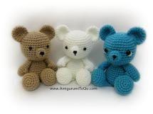 10 FREE Teddy Bear Crochet Patterns: Small Teddy Bear Free Crochet Pattern