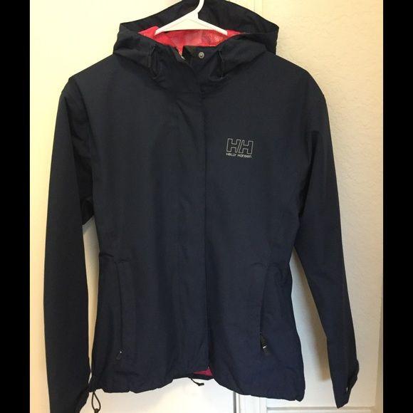 Women's rain jacket Women's rain jacket with hood- Helly Hansen brand, lightweight, waterproof Helly Hansen Jackets & Coats Utility Jackets