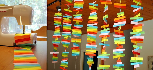 Guirlande home id es d co recyclage pinterest - Idees deco recyclage ...