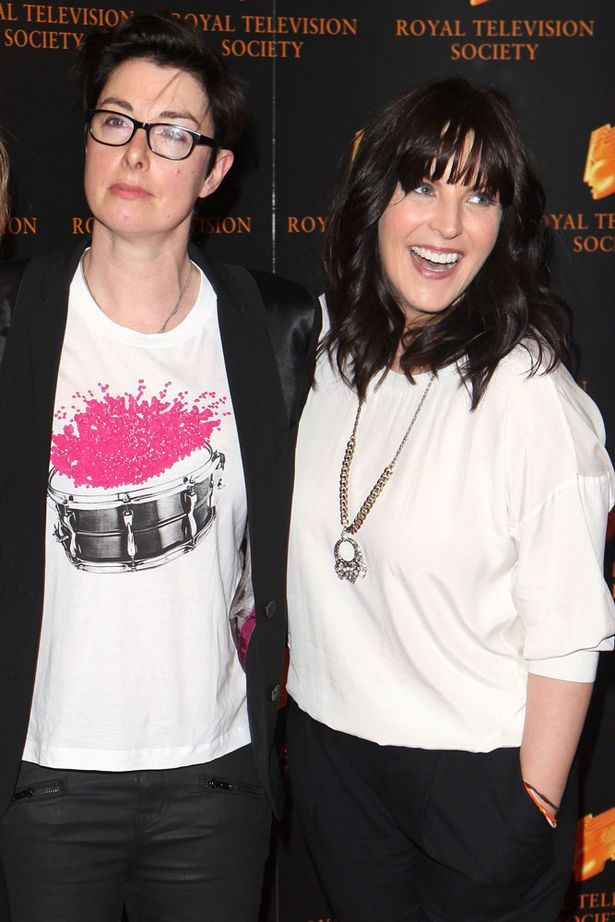 Anna Richardson and Sue Perkins