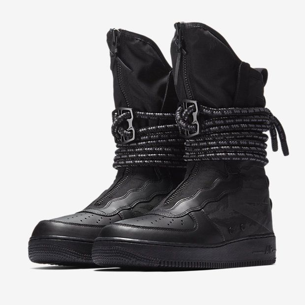 Nike Sf Air Force 1 High Boot Tactical Command Sneakers Men