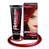 Rebellious Scarlet Red @ Beeunique