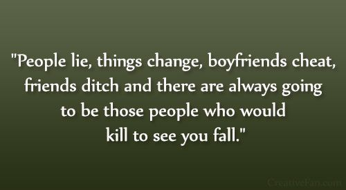 Quotes About Changing Friends: 1000+ Ideas About So Called Friends On Pinterest