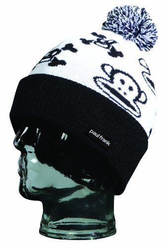 Paul Frank Girls' Character Beanie (White, One Size) by Paul Frank. $16.00. The Character Beanie is 100% acrylic with the Julius and Skurvy images.. Save 20% Off!