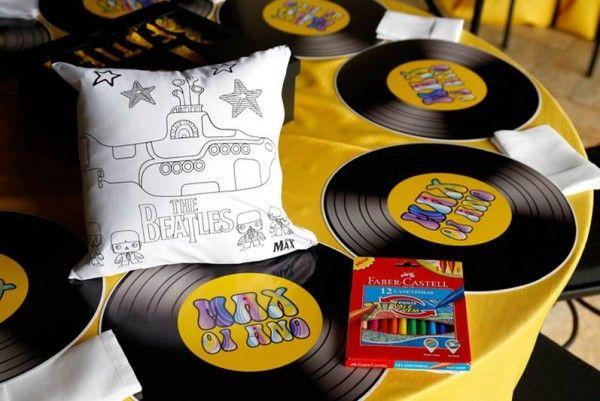 decoracao festa infantil yellow submarine:sobre Festa Dos Beatles no Pinterest