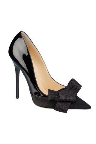 Sapato Preto com laço