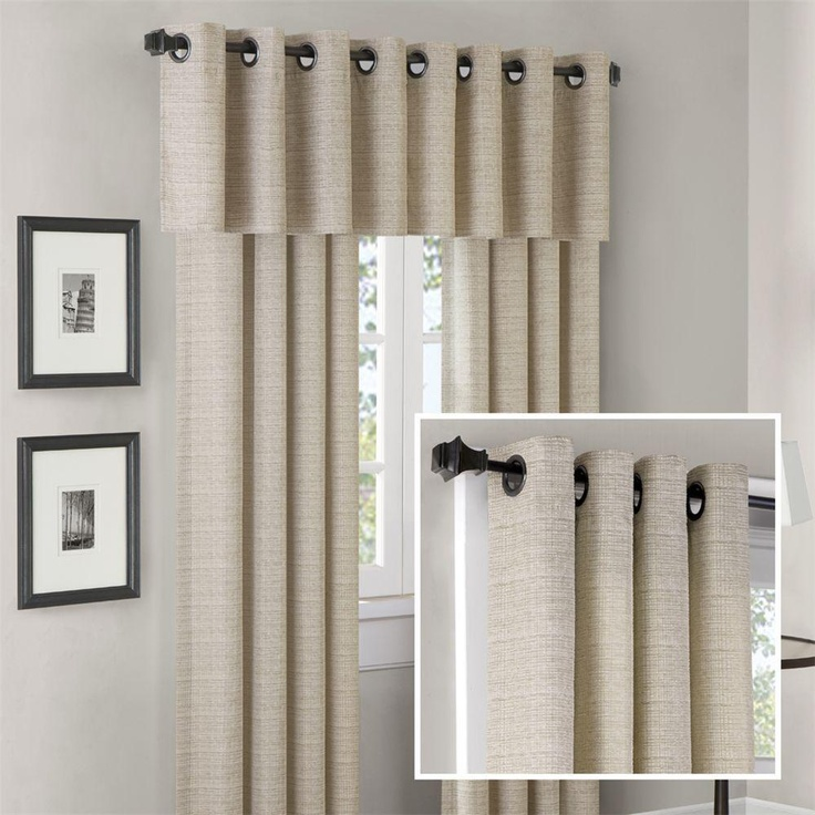 Valance With Grommets